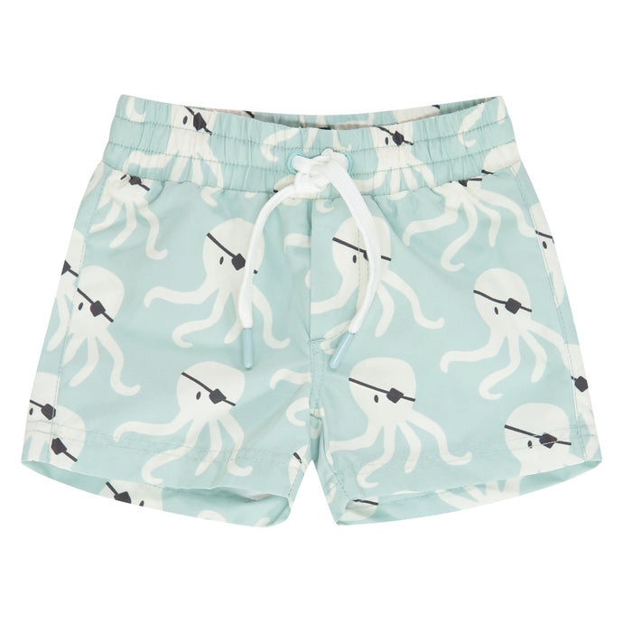 Babyface - Boys Swim Shorts - Grey Mint