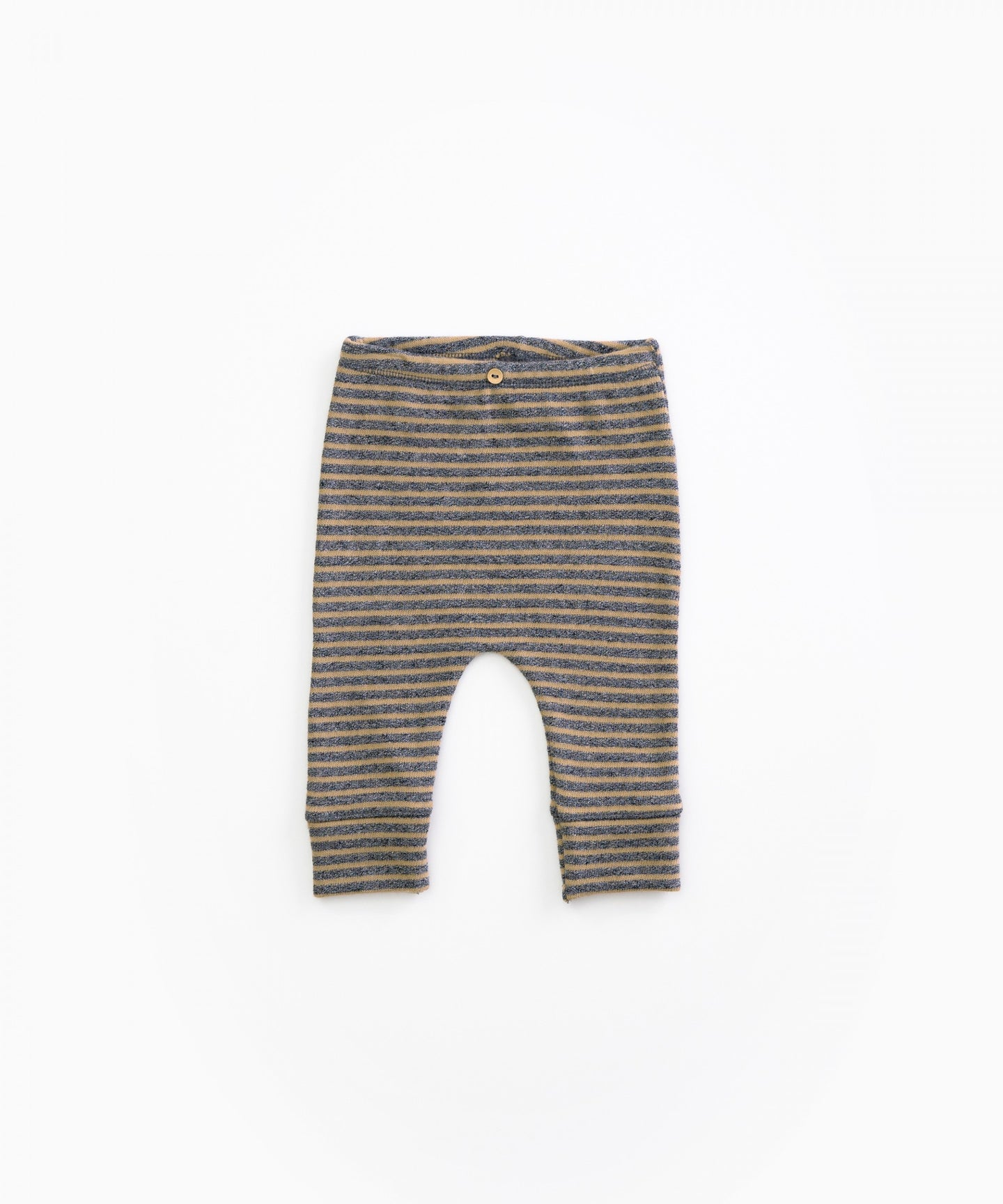 Play Up - Organic Jersey Stitch Striped Leggings - Cherry Tree