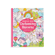 Load image into Gallery viewer, Color-in' Book - Enchanting Unicorns