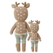 Load image into Gallery viewer, Cuddle + Kind - Elliot the Fawn Hank Knit Doll - Little 13""