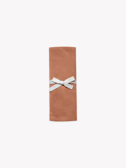 Quincy Mae - Organic Brushed Jersey Baby Swaddle - Rust