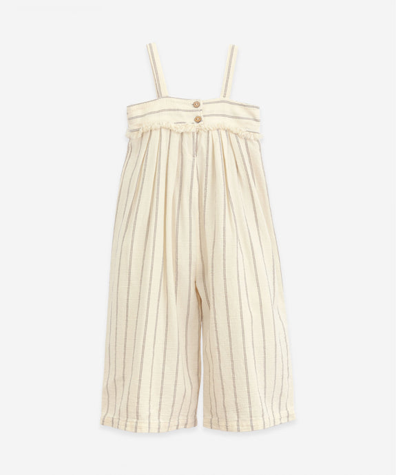 Play Up - Organic Cotton Striped Jumper - Dandelion