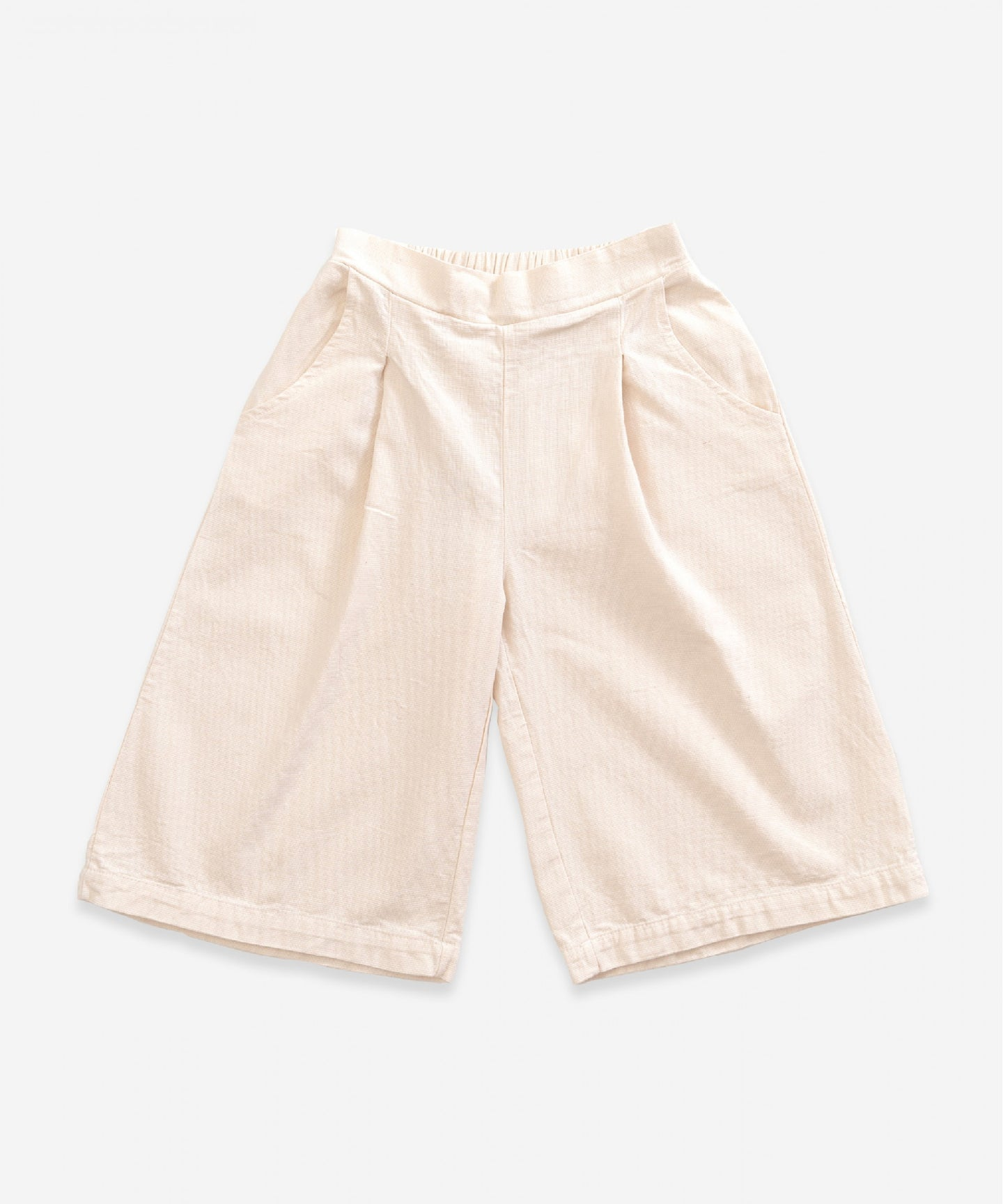 Play Up - Twill Trousers - Ivory
