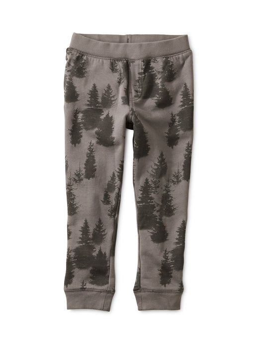 Tea Forest Fleece Baby Joggers