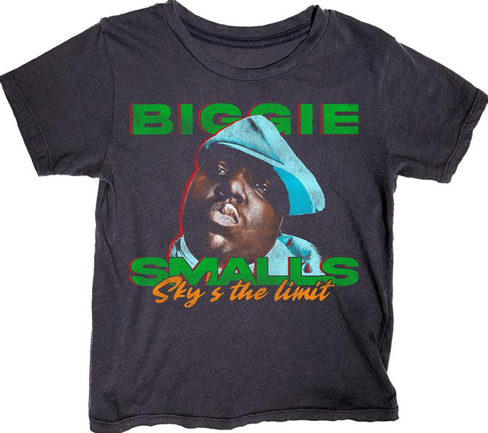 Rowdy Sprout - Biggie Simple Tee - Jet Black