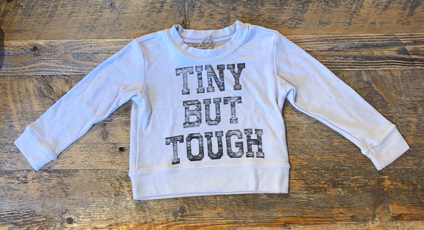 Brokedown - Tiny But Tough Sweatshirt - Light Grey