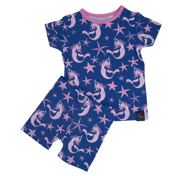 Sweet Bamboo - Bamboo Summer Pj Set - Magical Mermaid