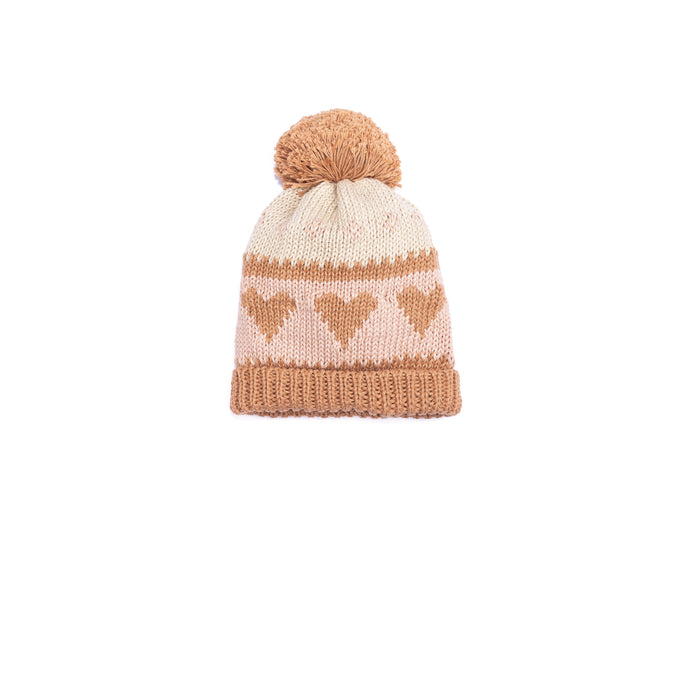 Love Beanie - Pecan Old Rose