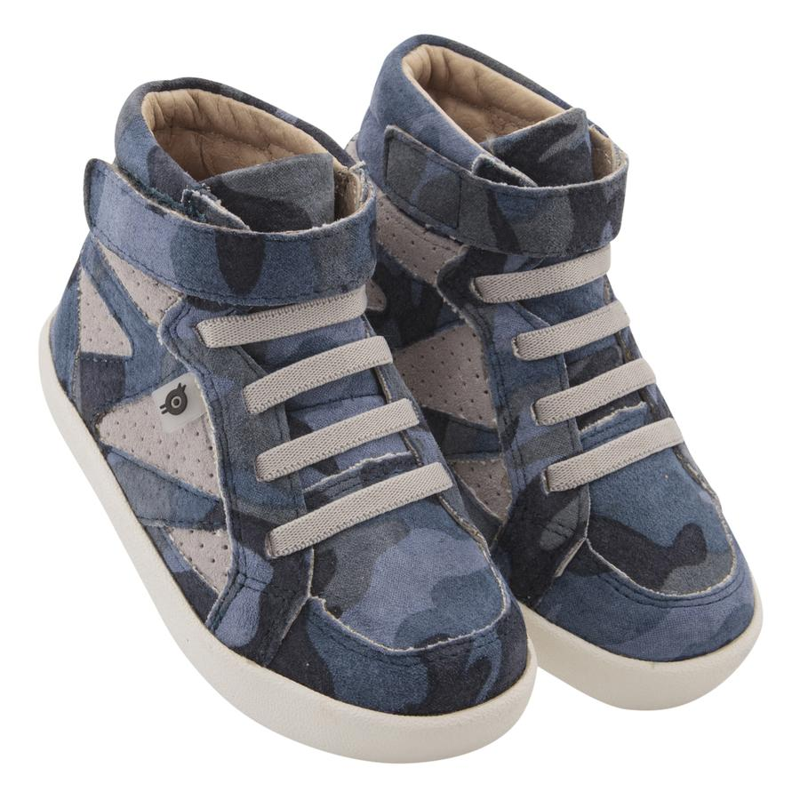 New Leader High Tops - Army Camo/Grey Suede