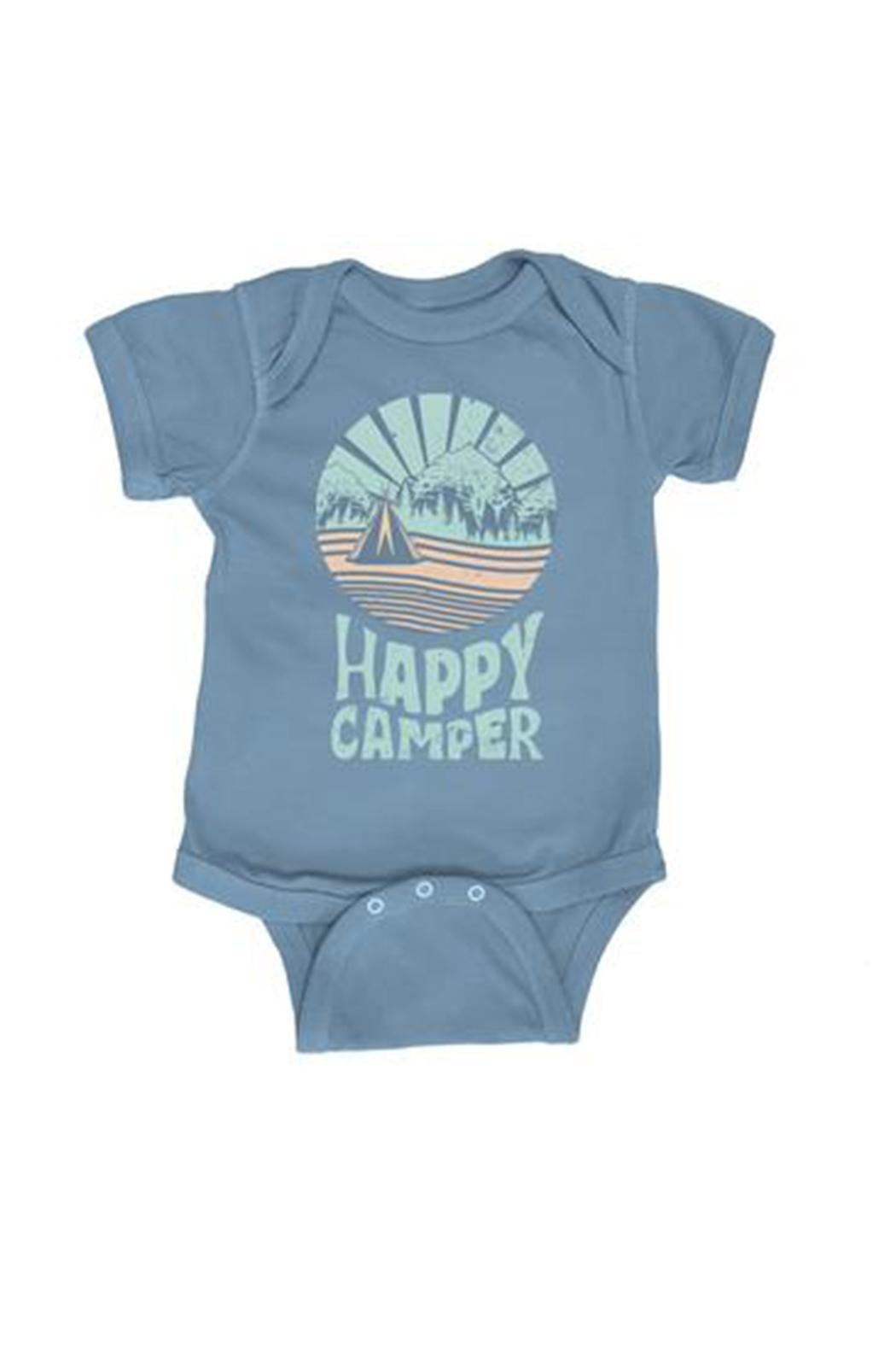 Feather 4 Arrow -  Happy Camper One Piece - Tahitian Blue