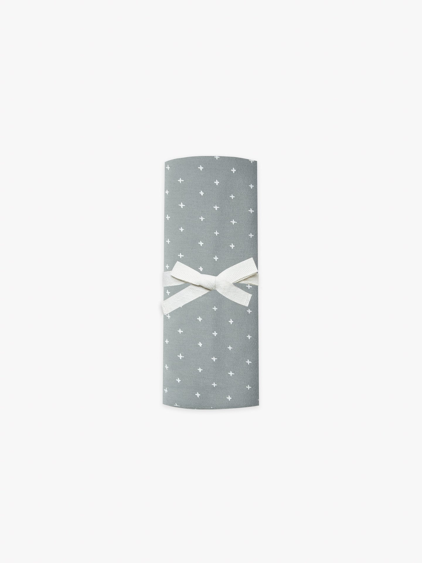 Quincy Mae - Organic Brushed Jersey Baby Swaddle - Ocean