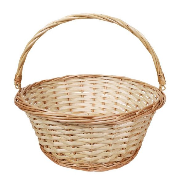 Large Tan Basket
