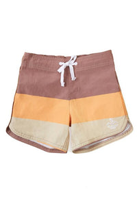 Seaesta Surf - Triple Scoop Boardshorts - Caramel