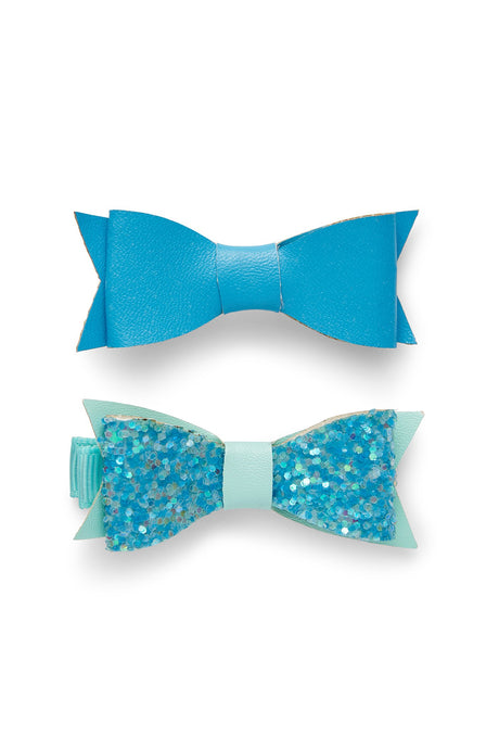 iloveplum - Millie Mini Bow Clip - Malibu Mix