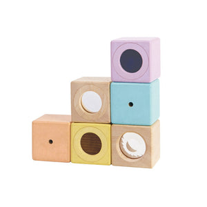 Plan Toys - Sensory Blocks