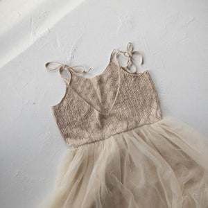 Raised By Water - Elle Dress - Beige