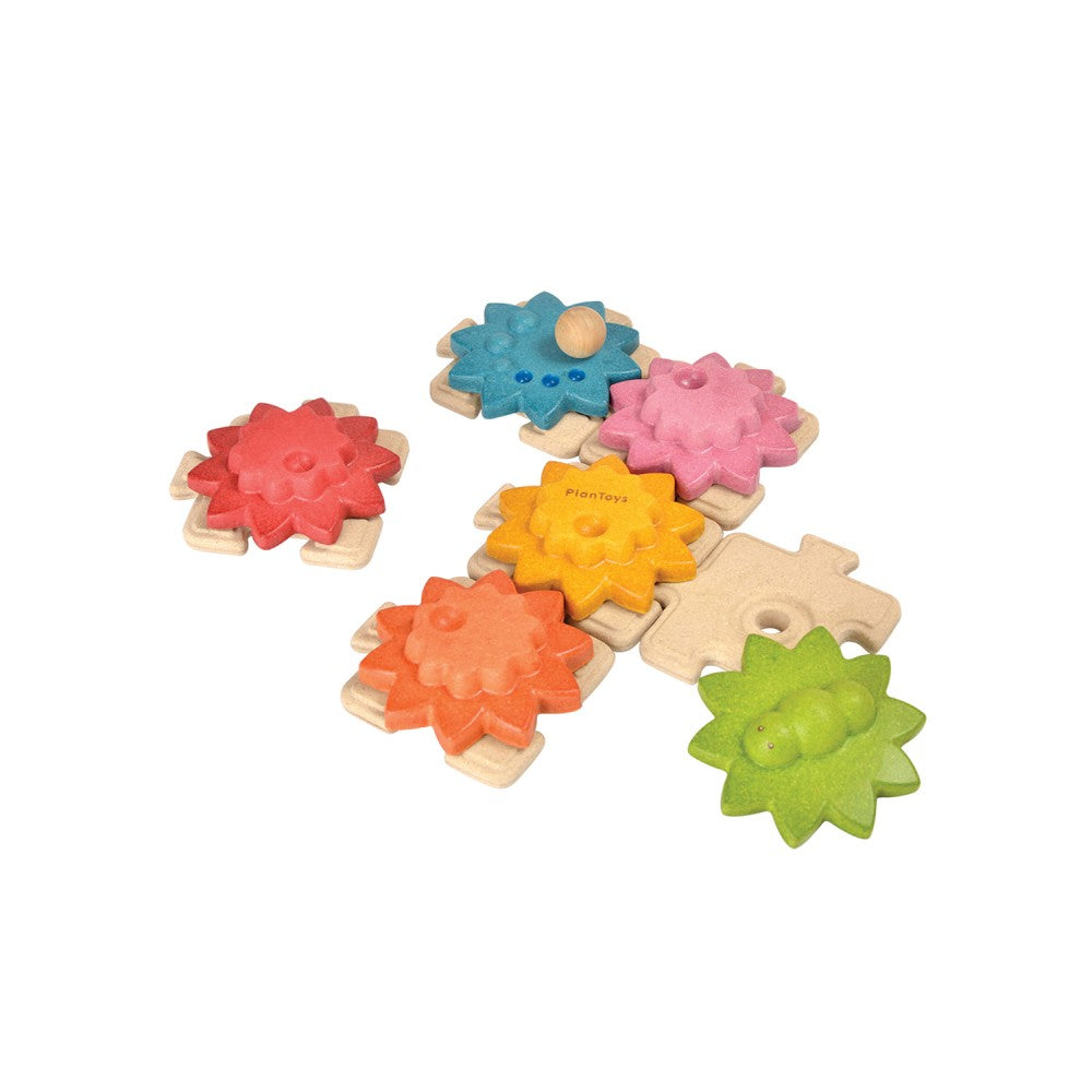 Plan Toys - Gears & Puzzles