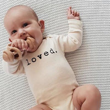 Load image into Gallery viewer, Loved Organic Long Sleeve Onesie