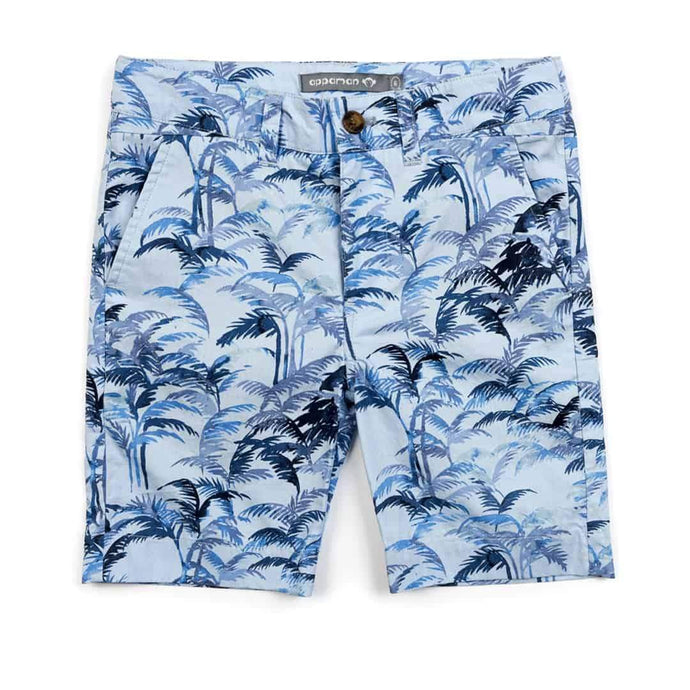 Appaman - Trouser Short - Blue Palms