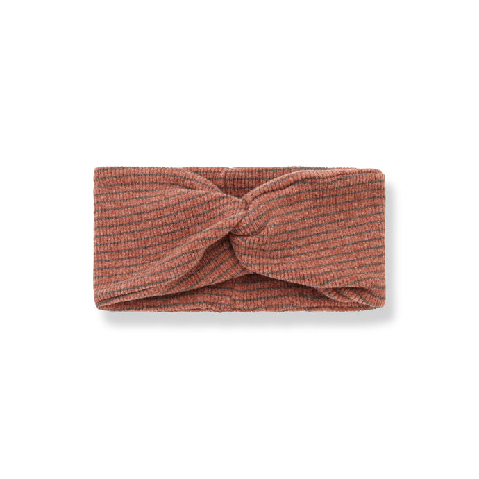 1 + in the family - Temple Bandeau Headband - Toffee