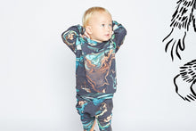 Load image into Gallery viewer, MunsterKids Stainless Fleece Crew
