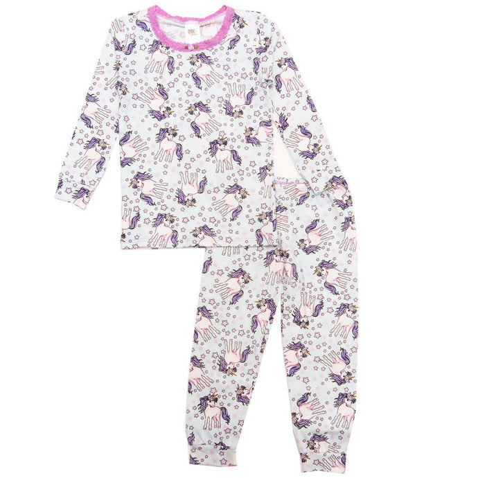 Esme - Shimmer Unicorn Full Length Pajama Set