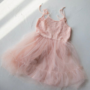 Raised By Water - Elle Dress - Light Pink