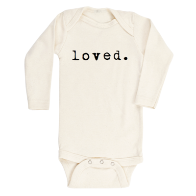 Loved Organic Long Sleeve Onesie