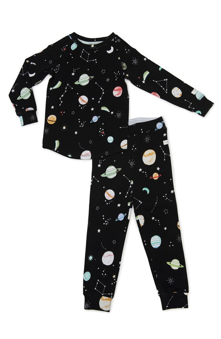 Loulou Lollipop - 2-pc Pajamas in TENCEL - Planets