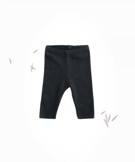Play UpOrganic Cotton Jersey Leggings - Ruler
