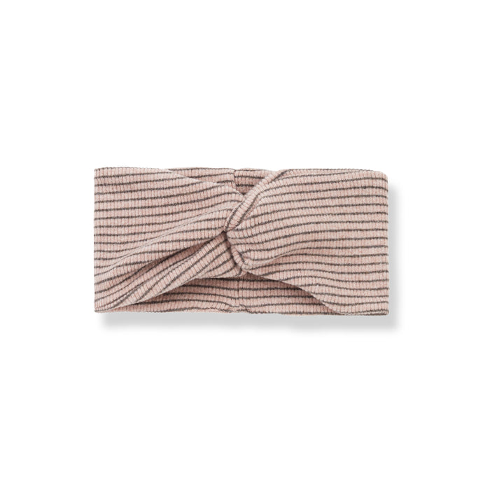 1 + in the family - Temple Bandeau Headband - Rose/Terrau
