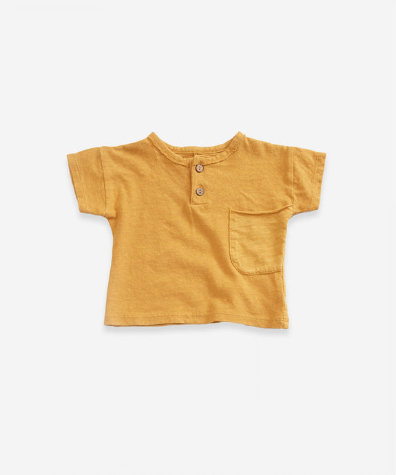 Organic Cotton Linen Pocket Top