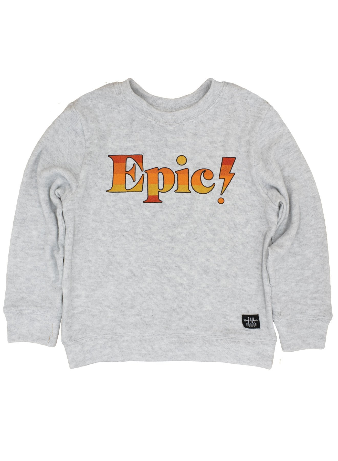 Feather 4 Arrow - Epic Hacci Pullover - Heather Gray
