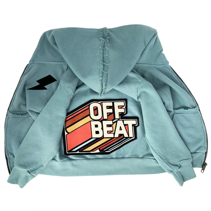 Wee Monster - Off Beat Zip Hoodie