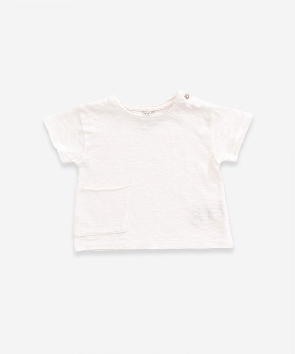 Play Up - Organic Cotton Anti-UV Top - Pearl