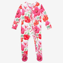 Load image into Gallery viewer, Posh Peanut - Maui - Footie Ruffled Zippered One Piece