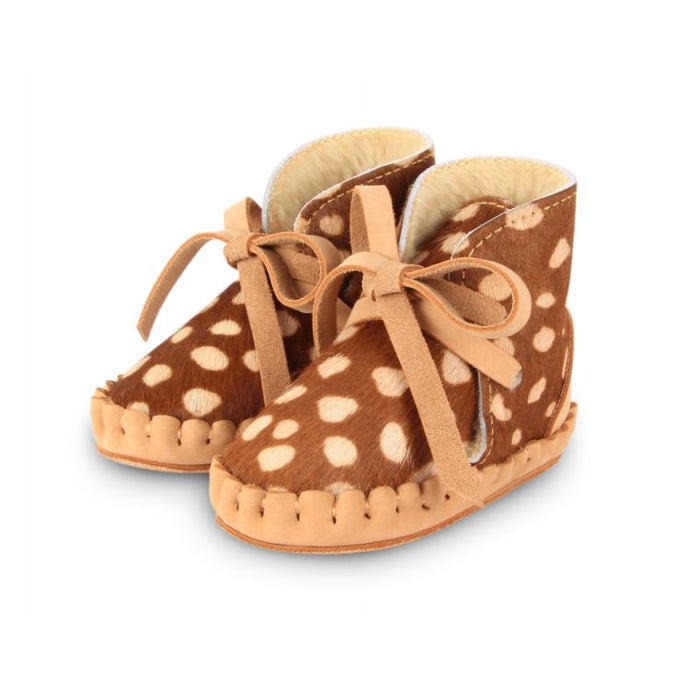 Pina Exclusive Lining - Brown Spotted Cow