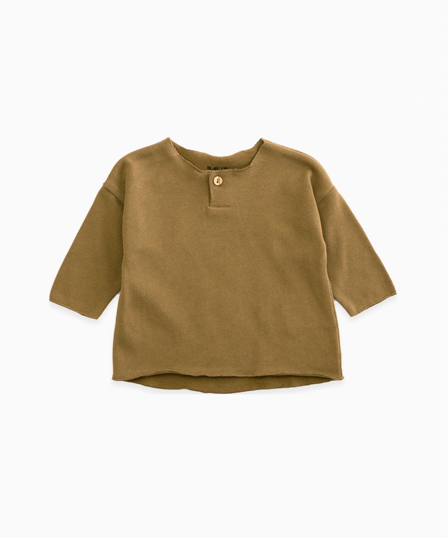 Play Up - Organic Cotton Top W/ Button - Rival
