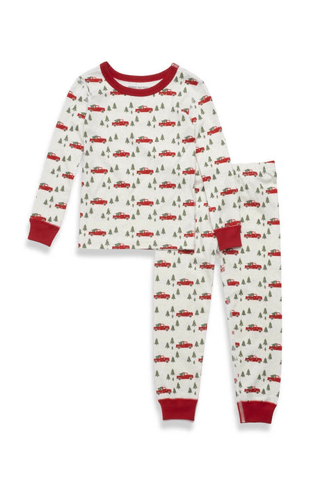 Trim a Tree - Plant a Tree Kids Neutral 2 Piece  Pajama Set