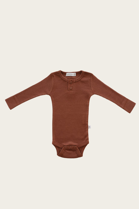 Jamie Kay - Organic Essential Bodysuit - Copper