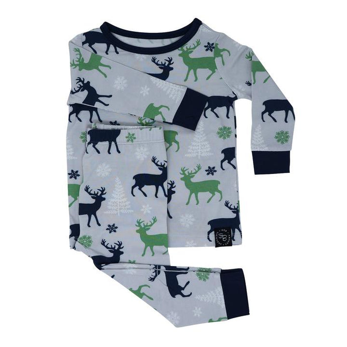 Sweet Bamboo - Bamboo Pj Set Long Sleeve - Reindeer