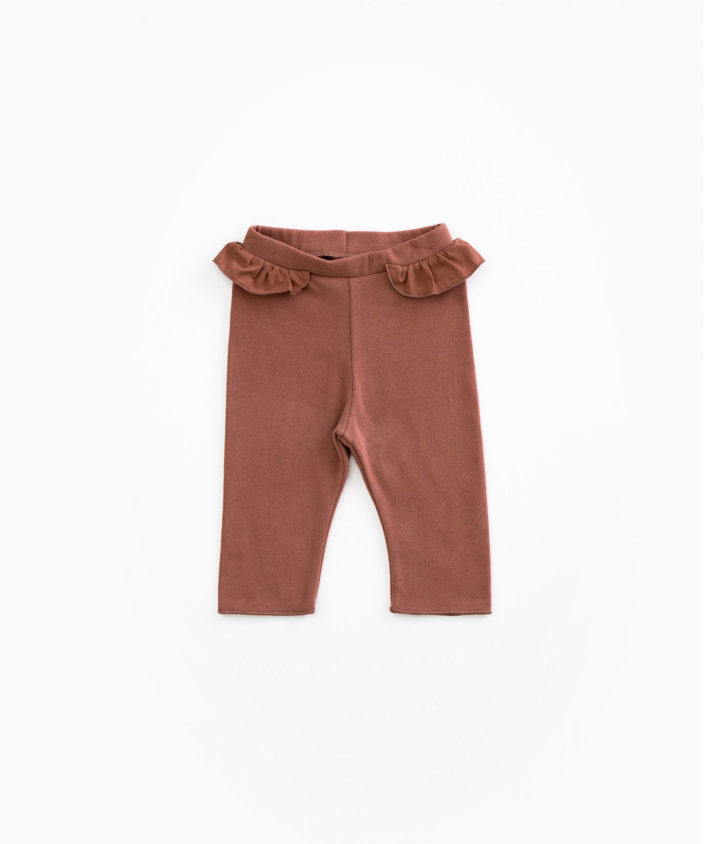 Play Up - Organic Cotton Leggings W/ Frill - Takula