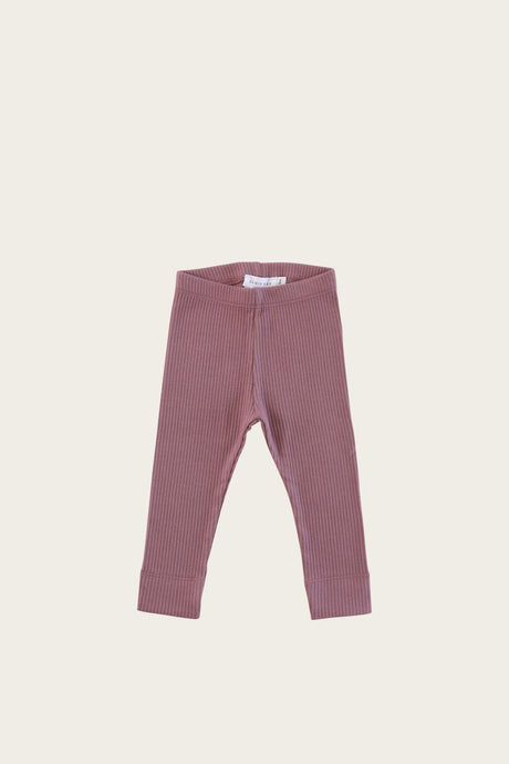 Jamie Kay - Organic Cotton Essential Leggings - Woodrose