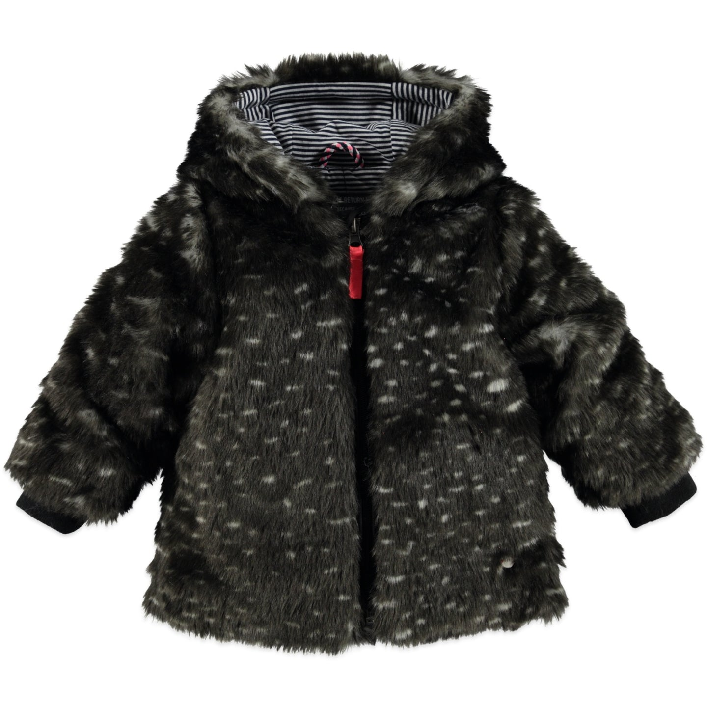 Babyface - Girls Furry Winter Coat - Antra