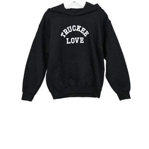 Truckee Love Hooded Sweatshirt - Black