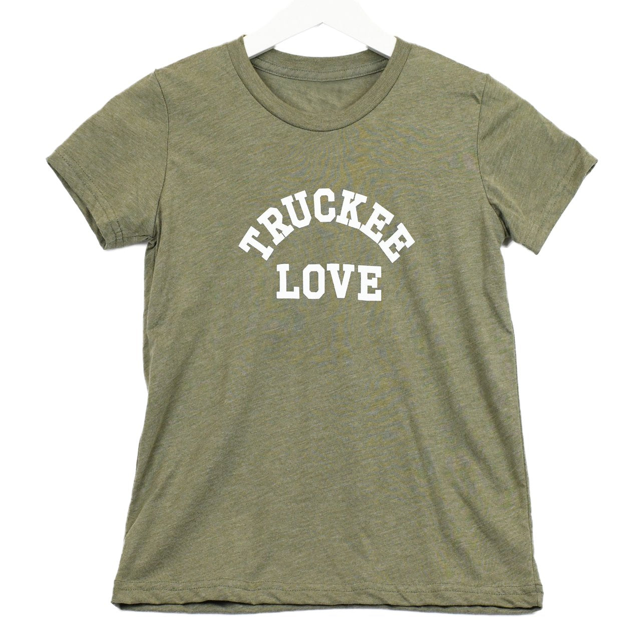 Truckee Love T-Shirt - Olive Green