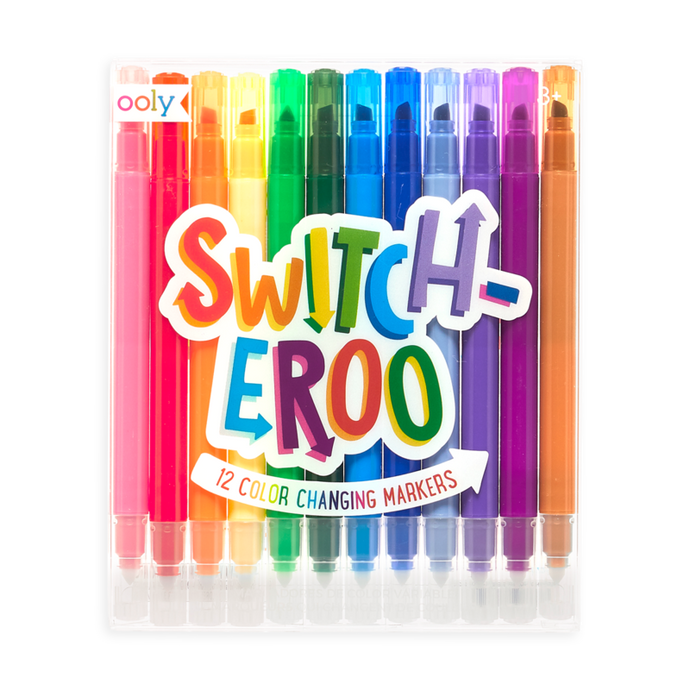 Ooly - Switch-eroo! Color-Changing Markers 2.0