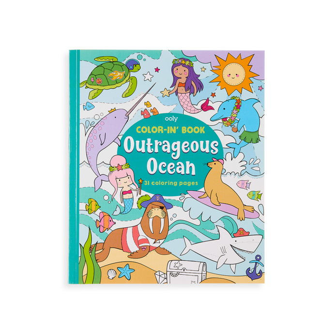 Ooly - Color-in' Book - Outrageous Ocean