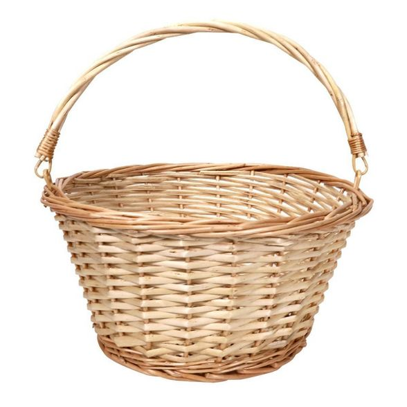Tan Medium Brown Basket