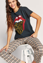Load image into Gallery viewer, Rolling Stones Leopard Tongue Tour Tee